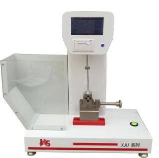 XJUD22触摸屏控制悬臂梁冲击试验机定制