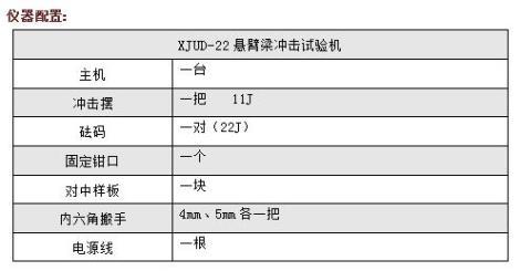 XJUD22触摸屏控制悬臂梁冲击试验机...