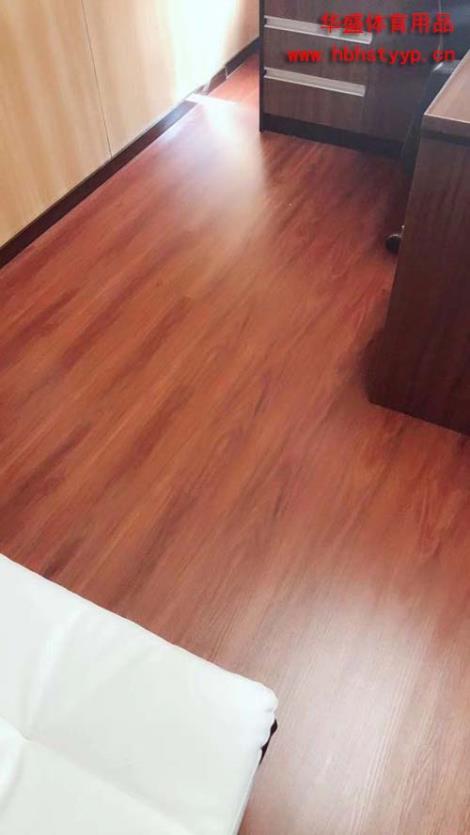片材地板施工