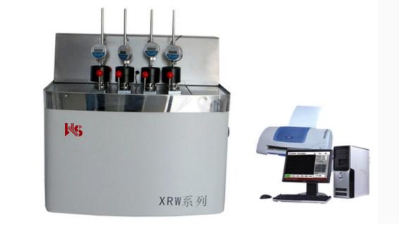 XRW-300B 热变形微卡软化点温度测定仪