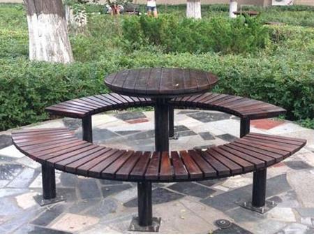 防腐木公園椅