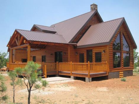 防腐木別墅安裝