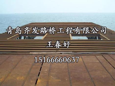 钢栈桥平台生产商