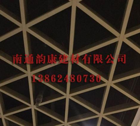 三角铝格栅价格