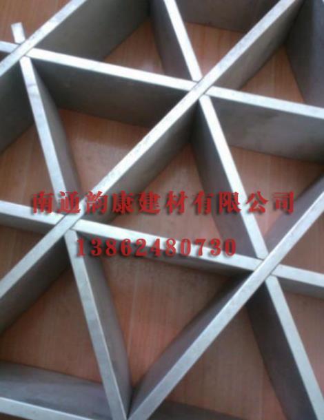 三角铝格栅厂家