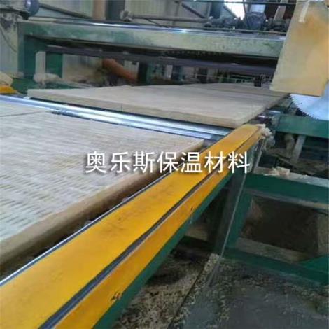 缝制网格布岩棉板