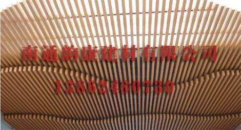 立体造型铝方管天花