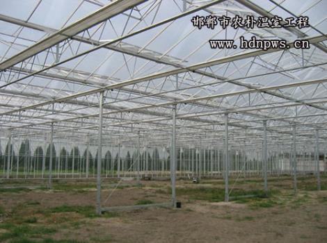 阳光板温室安装