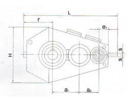 QJR(QJB)中硬齿面减速器