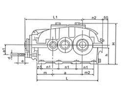 BW(Y)双级摆线针轮减速机