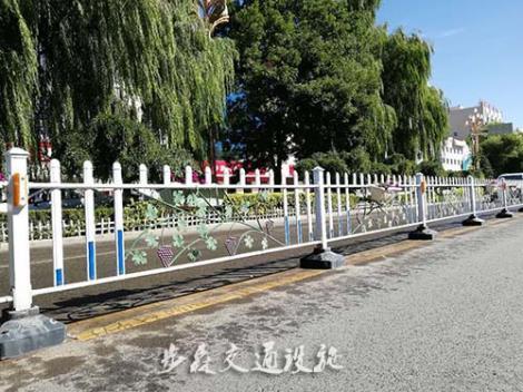 绿化护栏施工