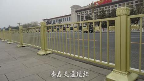 黄金护栏安装