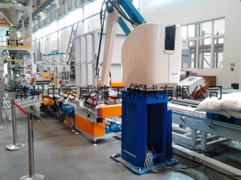 码垛机械人生产线