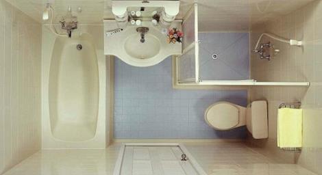家庭整体卫生间安装