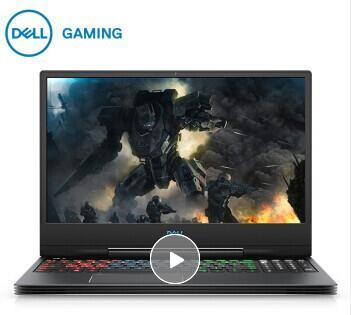 戴爾DELL G7 15.6英寸游戲筆記本電腦(i7-8750H 8G 128GSSD 1T GTX1050TI 4G