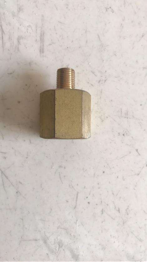 内外丝黄铜变径接头
