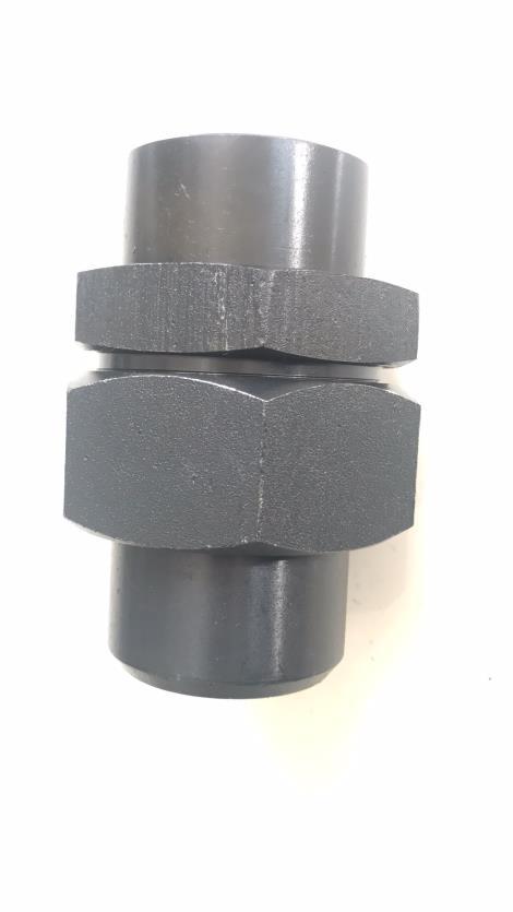 不锈钢焊接式直通