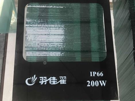 200瓦工程照明玻璃定制