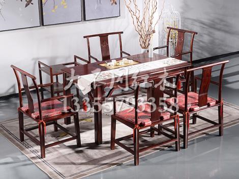 茶水台桌椅