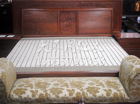 红木双人床