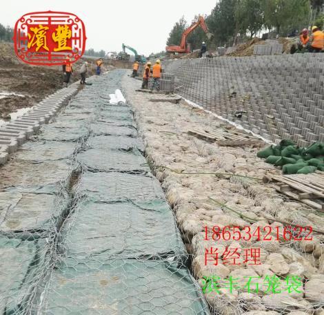 新品石笼袋 土工石笼袋新品 滨丰护坡材料