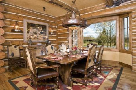 鄉村風格木質餐廳