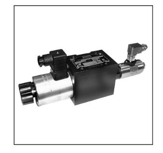 电磁方向控制阀 D3W系列,带电感式位置监控