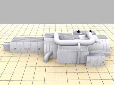 燃气发电机组化妆板