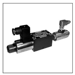 电磁方向控制阀 D1VW系列,带电感式位置监控