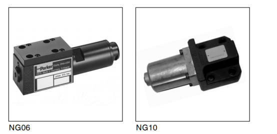 直动式减压阀 VM系列,板式