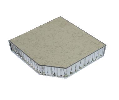 铝蜂窝防静电地板