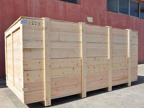 出口设备包装箱定制