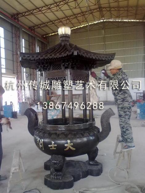 香炉雕塑生产商