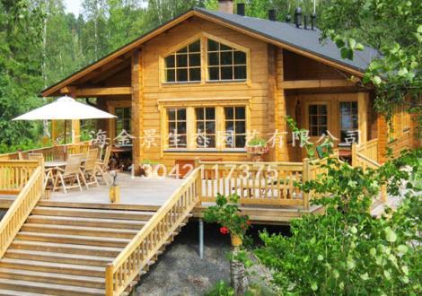 芬兰木木屋别墅
