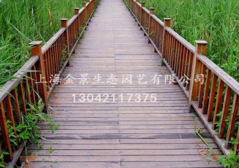 防腐木装饰栏杆