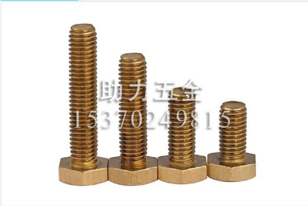 外六角螺栓-铜