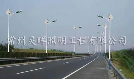 太阳能高杆路灯加工