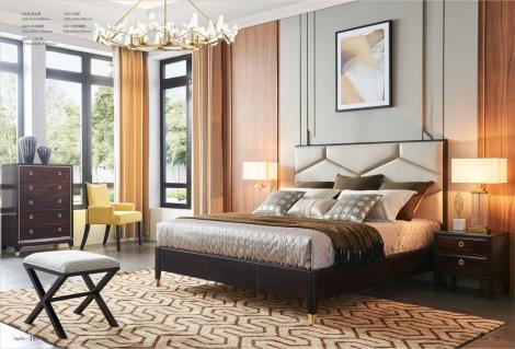 Agalo阿迦洛輕奢現代美式系列-臥房