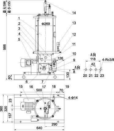 DRB-J系列电动润滑泵