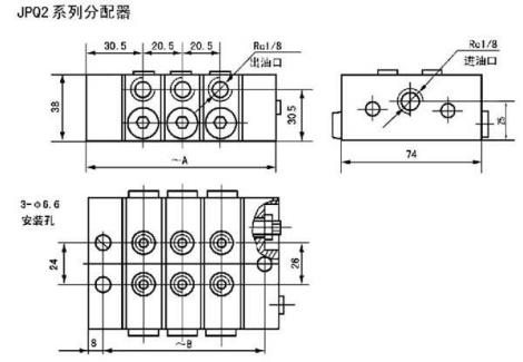 JPQ系列递进式分配器