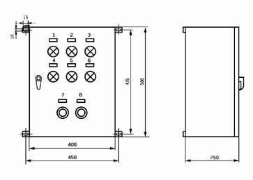 DEA-2E型电气控制箱