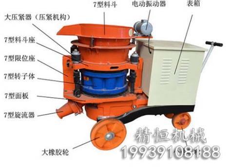 混凝土喷浆机制造厂家