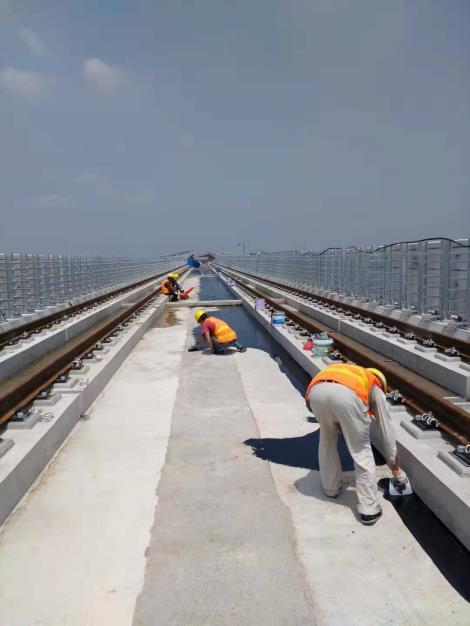 地铁高架桥面防水
