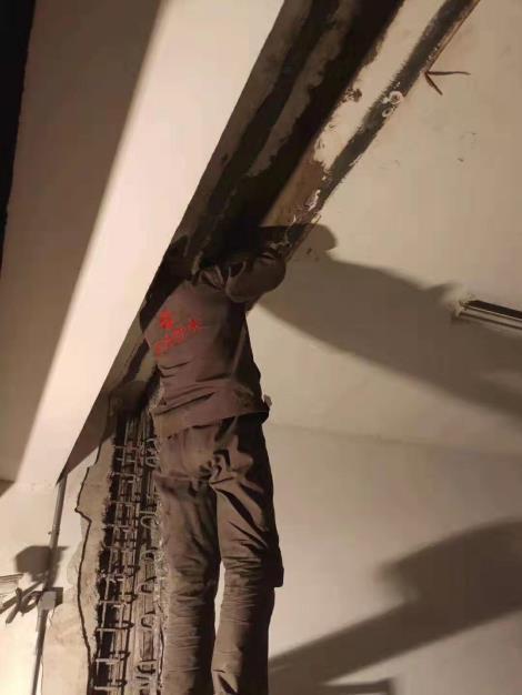 地下室沉降缝堵漏施工