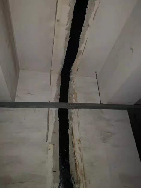 沉降缝堵漏施工