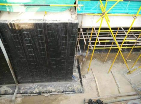 地下室外墙板防水