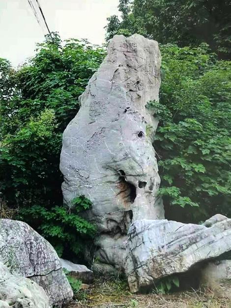 景觀石施工