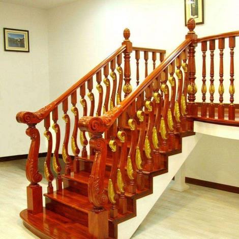 紅木樓梯扶手