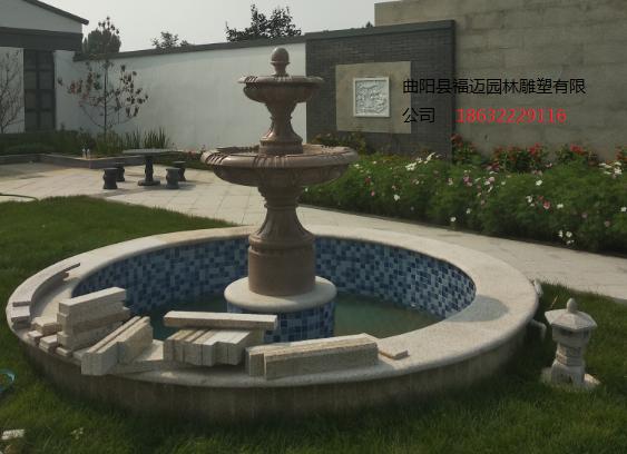 别墅石雕喷泉