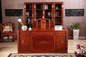 国色天香书房桌柜